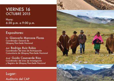 La vigencia del Qhapaq – Sistema vial andino