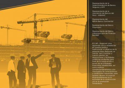 Financiamiento a la construcción – Créditos hipotecarios