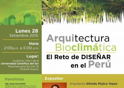 Arquitectura bioclimatica – El reto de diseñar en el Perú