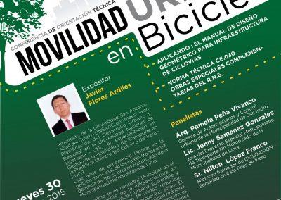 Movilidad urbana en bicicleta