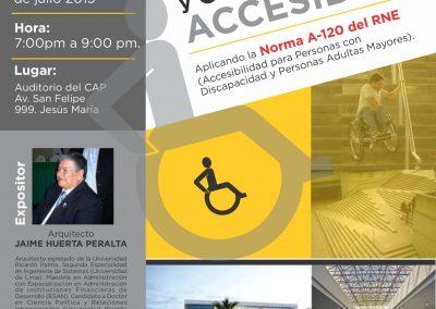 Espacios públicos y edificaciones accesibles