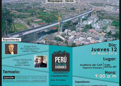 Ciudades al futuro – Sede Arequipa