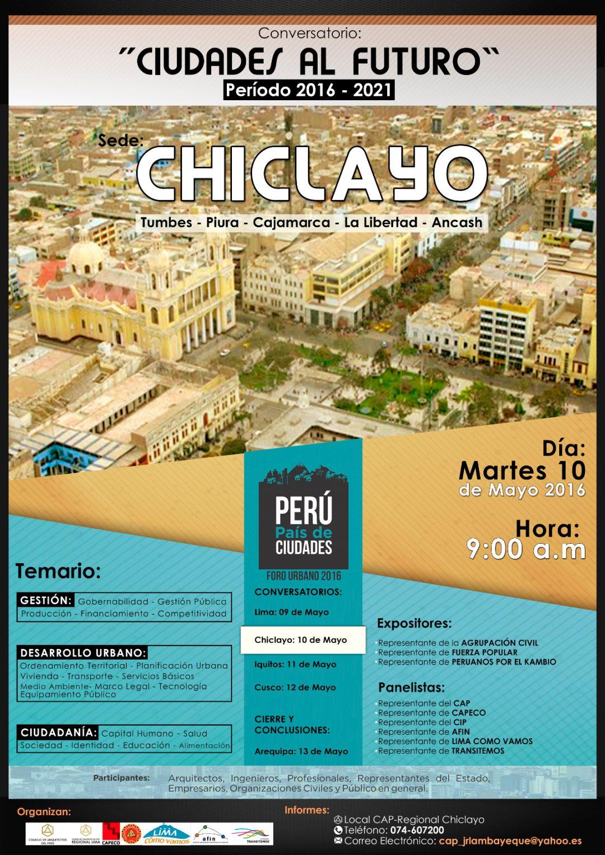 Ciudades al futuro – Sede Chiclayo