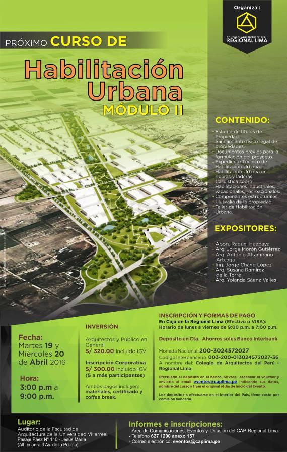 Habilitación urbana modulo 2