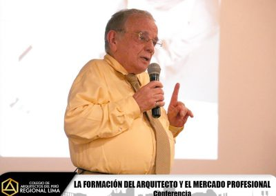 """Fotos: Conferencia """"La formación del Arquitecto y el mercado profesional"""""""
