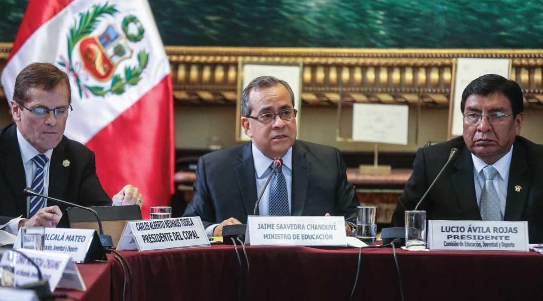 Ministro de Educación expone situación de Juegos Panamericanos en Congreso