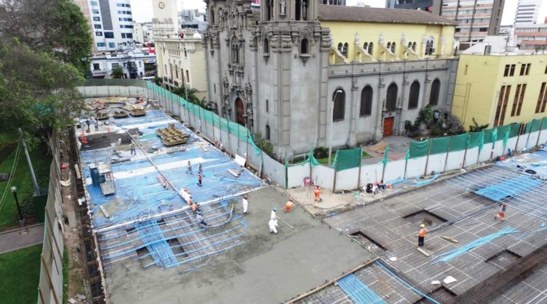 Parqueo subterráneo de Miraflores empezará a funcionar en diciembre