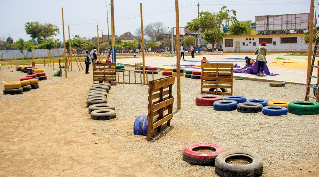 Se inaugura intervención urbana en Parque Manhattan de Comas, en Lima