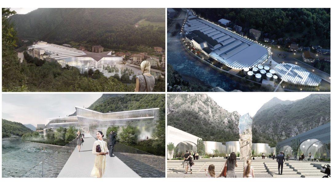 BIG & MVRDV explican sus propuestas finalistas del concurso San Pellegrino en Italia