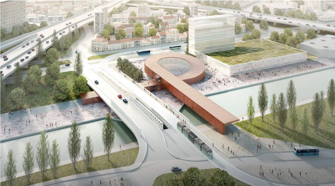 BIG se suma a Perrault, Kuma y EMBT, y diseñará nueva estación de Metro en París