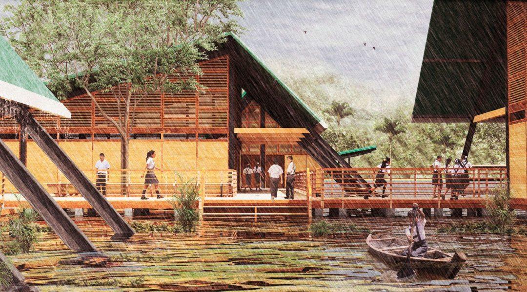 Bienal de Arquitectura del Perú: 'Hexágono de Oro' es otorgado al 'Sistema Prefabricado Modular Plan Selva' del Ministerio de Educación