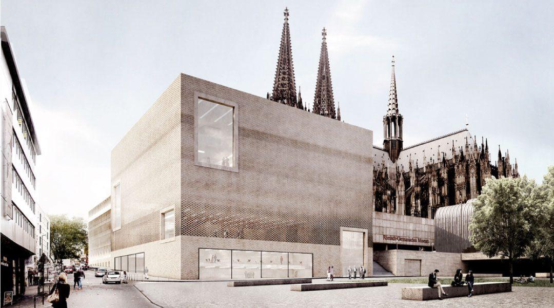 Staab Architekten presenta su diseño de planificación para el Centro Histórico de Colonia
