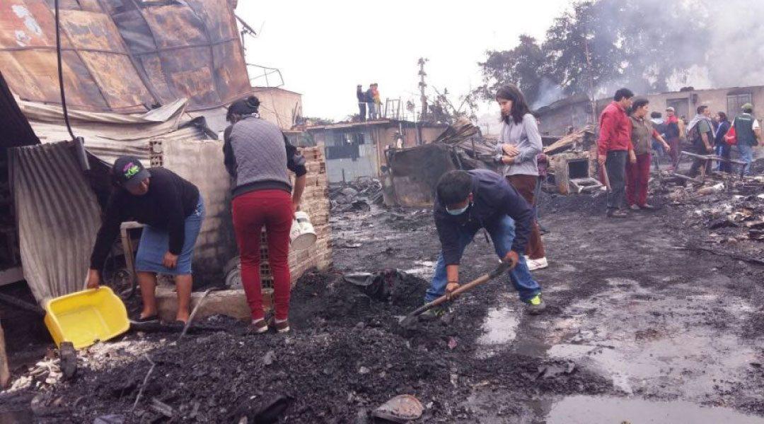 Ministerio de Vivienda ofrece ayuda a los damnificados de Cantagallo