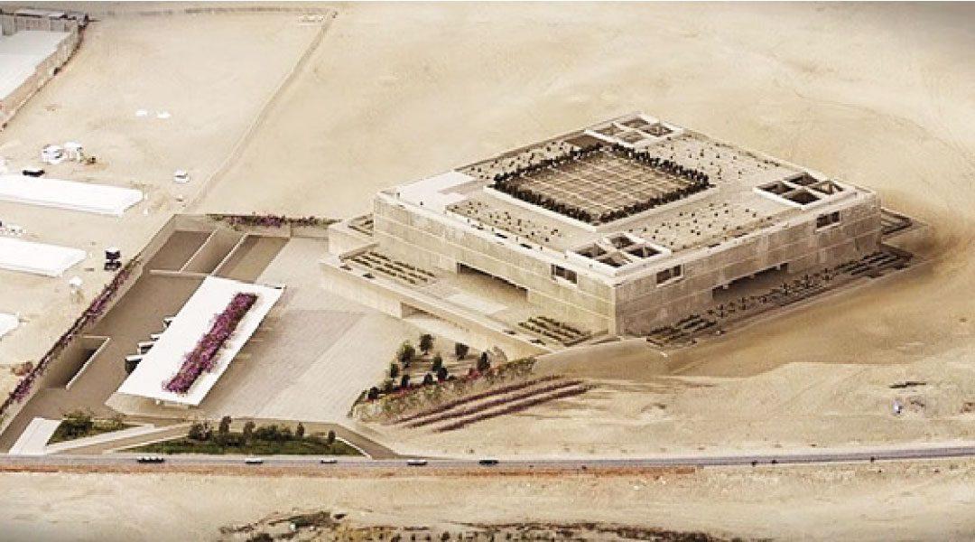 Descartan que humedad vaya a afectar estructura del Museo Nacional de Arqueología en Lurín