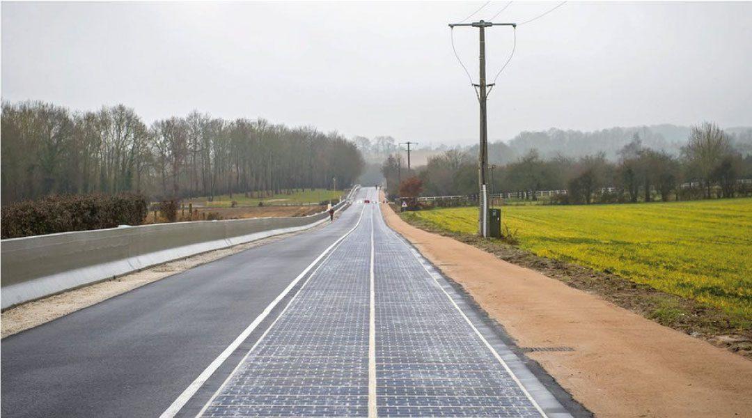Primera carretera solar es inaugurada en Francia