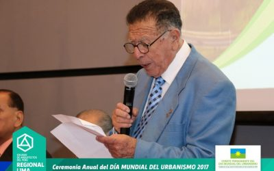 ARQ. MANUEL FABRICIO UNGARO ZEVALLOS – DÍA MUNDIAL DEL URBANISMO 2017