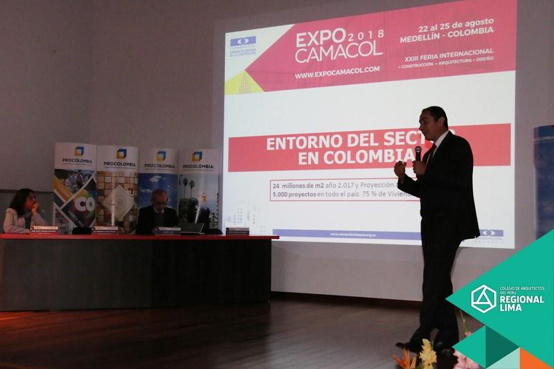 FOTOS: PRESENTACIÓN EXPO CAMACOL MEDELLIN – COLOMBIA 2018