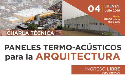 PANELES TERMO-ACÚSTICOS PARA LA ARQUITECTURA