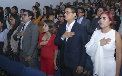 Ceremonia de Colegiatura | 04 diciembre 2018