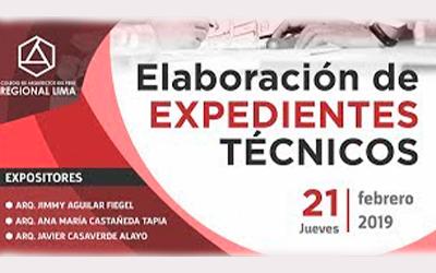 Seminario Elaboración de Expedientes Técnicos