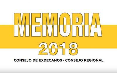 MEMORIA ANUAL 2018 – CAP REGIONAL LIMA
