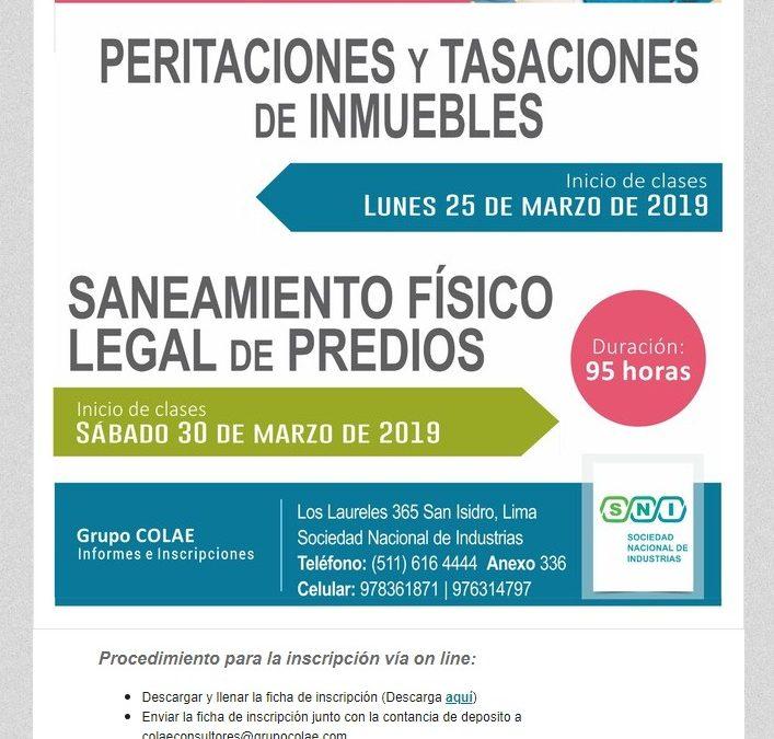 COLAE Corporación Latinoamericana de Entrenamiento  Programas de Capacitación NotiCAPLima 038-2019