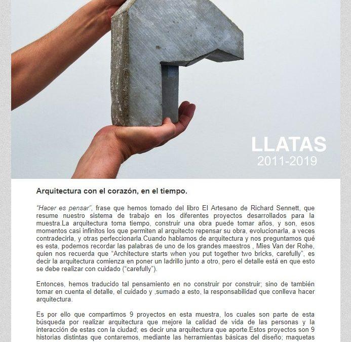 INVITACIÓN A LA MUESTRA TEMPUS – Arquitectura con el corazón NotiCAPLima 040-2019
