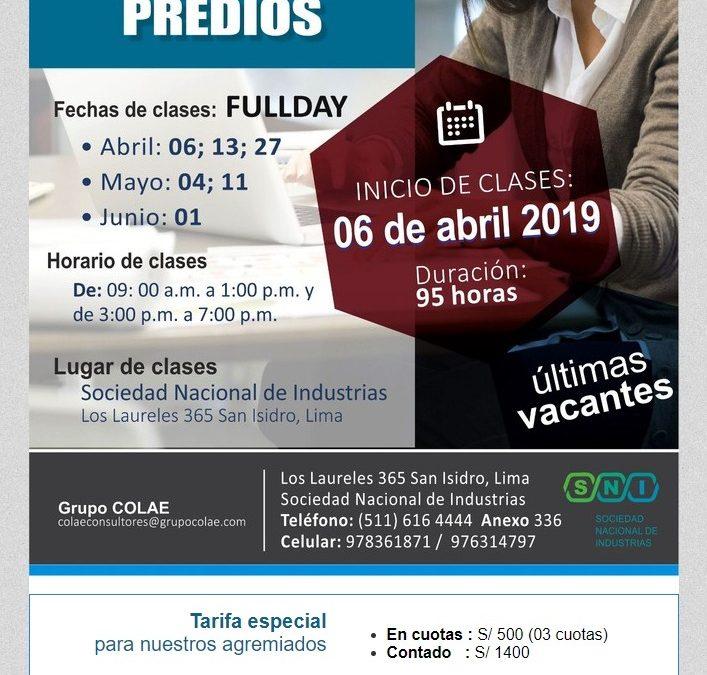 Mañana 06 de abril, inicia el Diploma en Saneamiento Físico Legal de Predios – NotiCAPLima 042-2019
