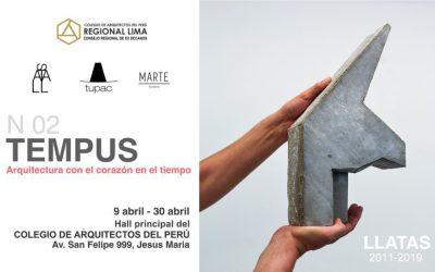 EXPOSICIÓN TEMPUS – Arquitectura con el corazón en el tiempo