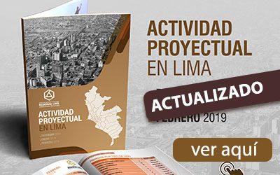 ACTIVIDAD PROYECTUAL EN LIMA – CALLAO | DICIEMBRE 2018 A MARZO 2019