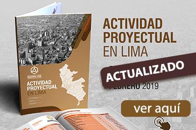ACTIVIDAD PROYECTUAL EN LIMA – CALLAO | DICIEMBRE 2018 A JULIO 2019