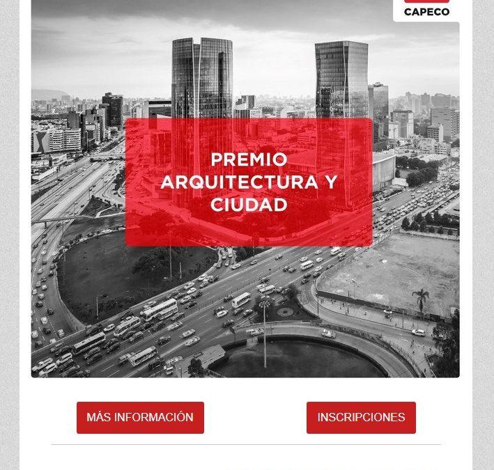 """CONCURSO """"ARQUITECTURA Y CIUDAD"""" – CAPECO  NotiCAPLima 48-2019"""