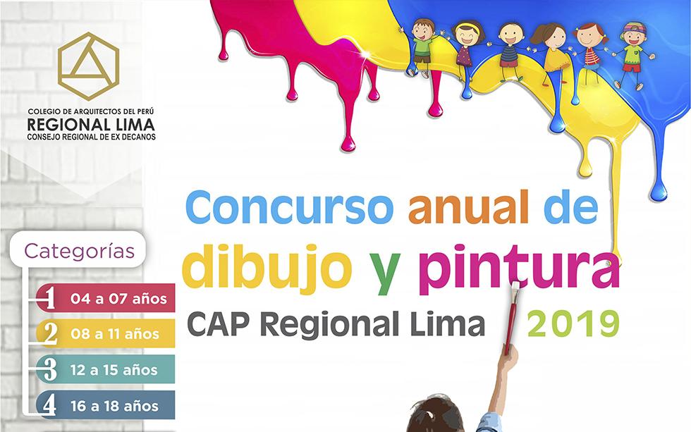 CONCURSO ANUAL DE DIBUJO Y PINTURA CAP REGIONAL LIMA 2019
