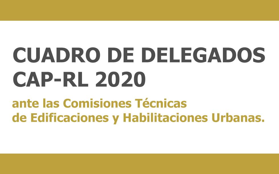 CUADRO DELEGADOS CAP-REGIONAL LIMA PERIODO 2020 | NotiCAPLima 181 -2019