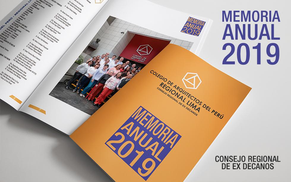 MEMORIA ANUAL 2019 – CAP REGIONAL LIMA