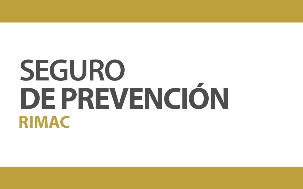 SEGURO PRIVADO DE SALUD RIMAC | NotiCAPLima 033 -2020