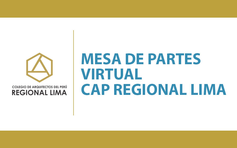 Mesa de Partes Virtual CAP RL   NotiCAPLima 101-2020