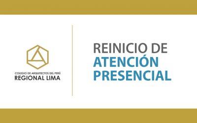 Reinicio de Atención Presencial CAP Regional Lima | NotiCAPLima 127-2020