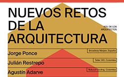 1.° Conversatorio Nuevos Retos de la Arquitectura – Rol de los Arquitectos