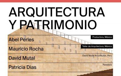 Conversatorio Arquitectura y Patrimonio