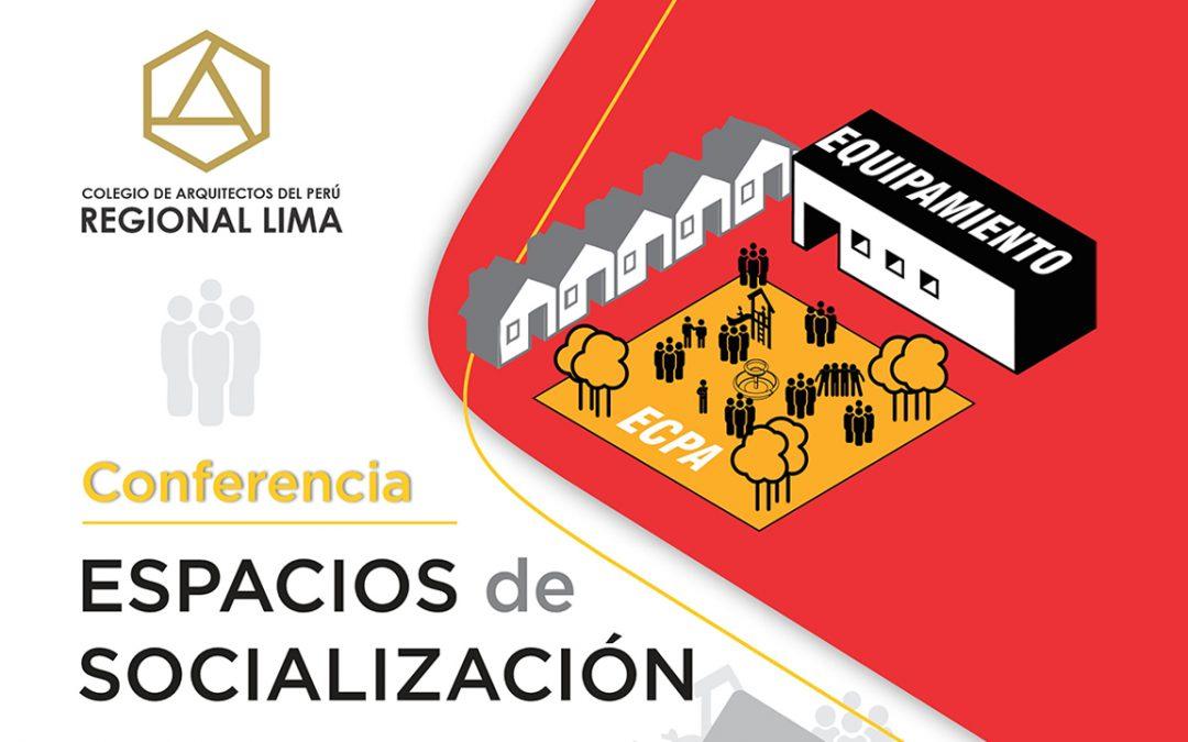 Conferencia Espacios de Socialización