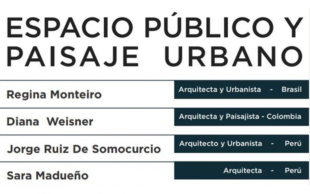 Conversatorio Espacio Público y Paisaje Urbano   NotiCAPLima 203-2020
