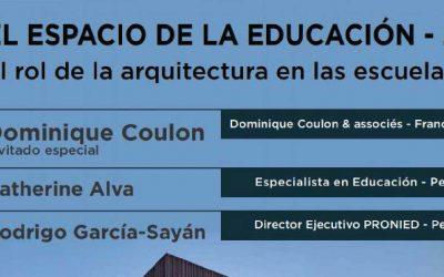 Conversatorio El Espacio de la Educación  2