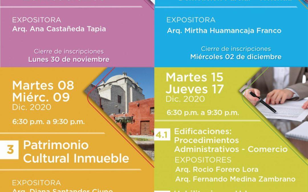 Seminario Elaboración de Expedientes Técnicos para Edificaciones y Habilitaciones Urbanas