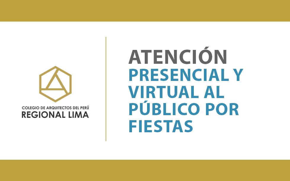 Atención presencial y virtual al público por Fiestas | NotiCAPLima 254-2020