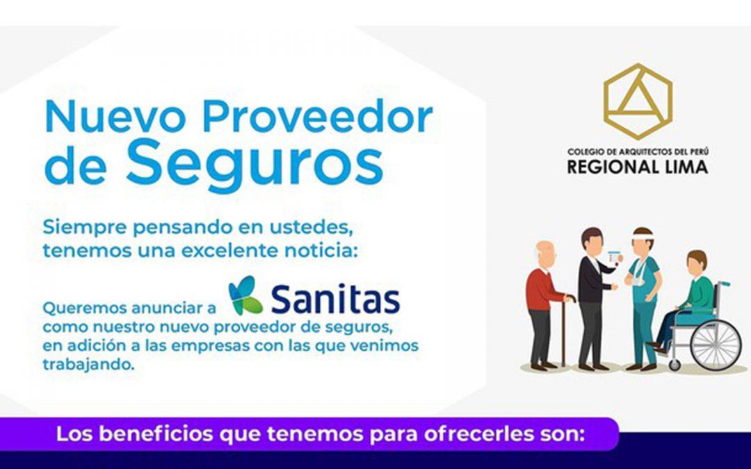 Regional Lima presenta a su nuevo aliado en seguros: Sanitas | NotiCAPLima 256-2020