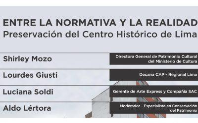 Conversatorio: Entre la Normativa y la Realidad  NotiCAPLima 010-2021