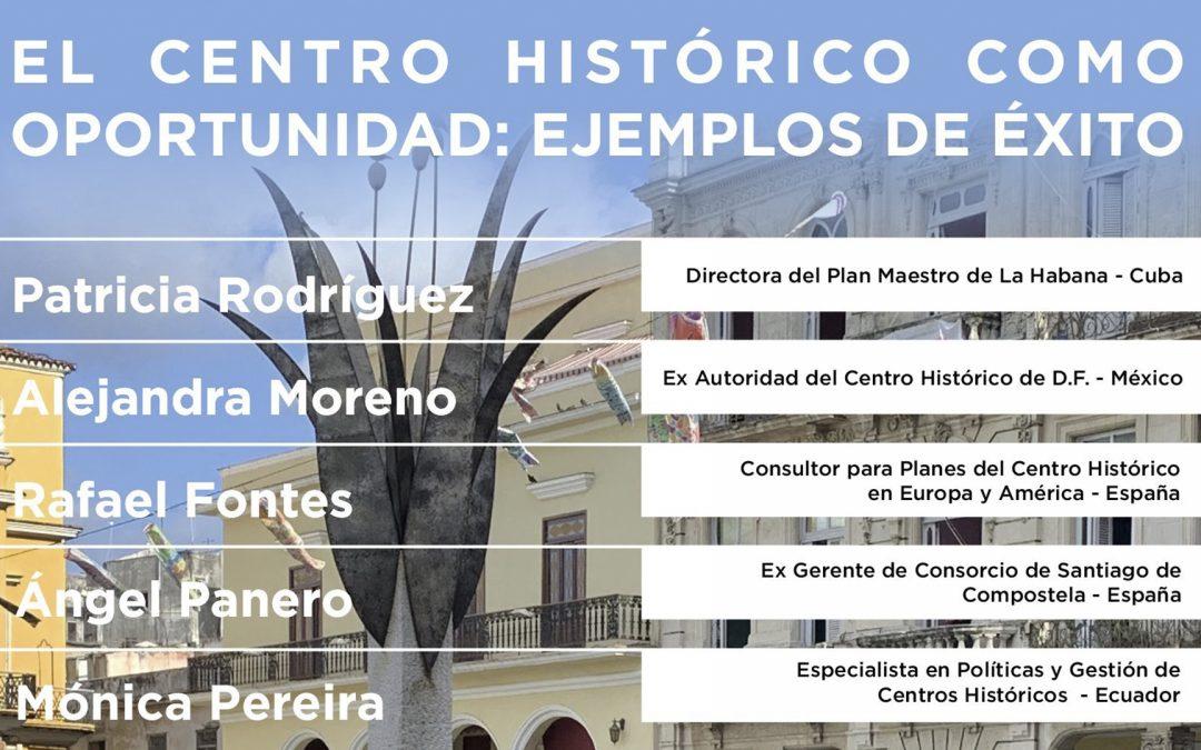 Conversatorio: El Centro Histórico como Oportunidad: Ejemplos de Éxito | NotiCAPLima 22-2021