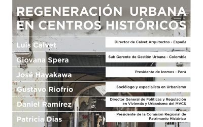 """Conversatorio """"Regeneración Urbana en Centros Históricos""""   NotiCAPLima 028-2021"""