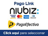 Tarjeta Crédito, Débito, Pago Efectivo (Niubiz, pago por link)